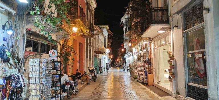 Nafplio – erste Hauptstadt von Griechenland